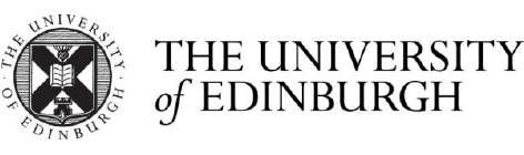 THE UNIVERISTY of EDINBURGH@2x