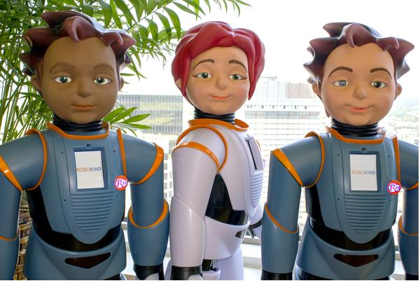 Three Milo robots